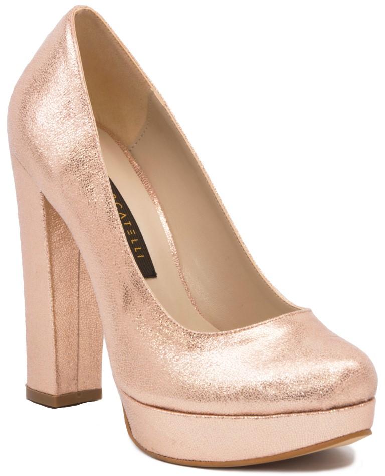Gedikpaşalı 8Ka149 Siyah Rugan Bayan Ayakkabı Bayan Klasik